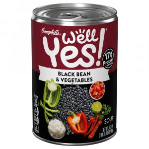 Campbell's Well Yes Black Bean with Quinoa Soup