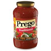 Prego Traditional Spaghetti Sauce