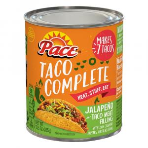 Pace Taco Complete Original Jalapeno Taco Meat Filling
