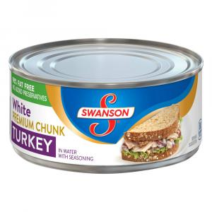 Swanson Premium Chunk Turkey