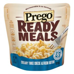 Prego Ready Meals Creamy Three Cheese Alfredo Rotini