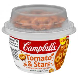 Campbell's Tomato & Stars with Original Goldfish Crackers