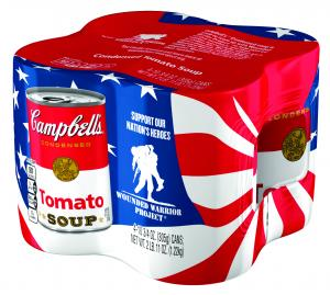 Campbell's Wounded Warrior Project Tomato Soup