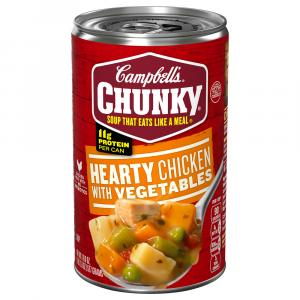 Campbell's Hearty Chicken Vegetable Soup