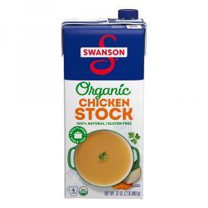 Swanson Organic Free-Range Chicken Stock