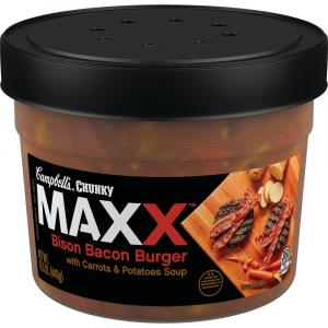 Campbell's Chunky Maxx Bison Bacon Burger Soup