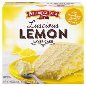 Pepperidge Farm Luscious Lemon Layer Cake