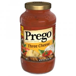 Prego Three Cheese Spaghetti Sauce