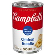 Campbell's 25% Less Sodium Chicken Noodle Soup