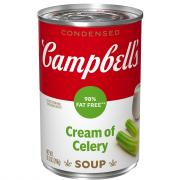 Campbell's Reduced Fat Cream of Celery Soup