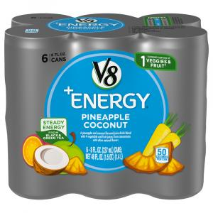 Campbell's V8 +Energy Pineapple Coconut