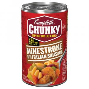 Campbell's Chunky Minestrone with Italian Sausage