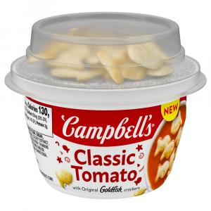 Campbell's Classic Tomato with Original Goldfish Crackers