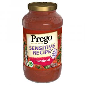 Prego Sensitive Recipe Traditional Sauce