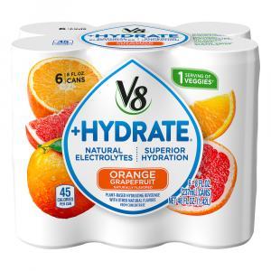 Campbell's V8 +Hydrate Orange Grapefruit