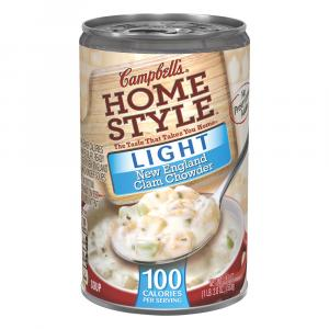 Campbell's 100% Natural New England Clam Chowder