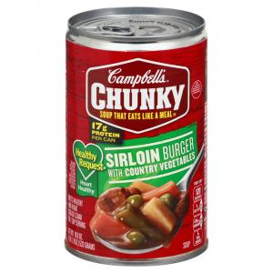 Campbell's Healthy Request Chunky Sirloin Burger Soup