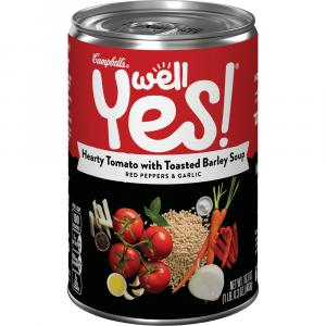 Campbell's Well Yes Hearty Tomato with Toasted Barley Soup