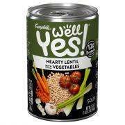 Campbell's Well Yes Hearty Lentil with Vegetables Soup