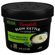 Campbell's Slow Kettle Creamy Broccoli Cheddar Soup