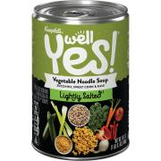 Campbell's Well Yes Low Sodium Vegetable Noodle Soup