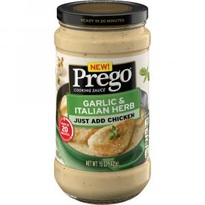 Prego Garlic & Italian Herb Cooking Sauce