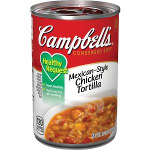 Campbell's Healthy Request Mexican-style Chicken Tortilla