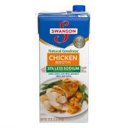 Swanson Natural Goodness 33% Less Sodium Chicken Broth