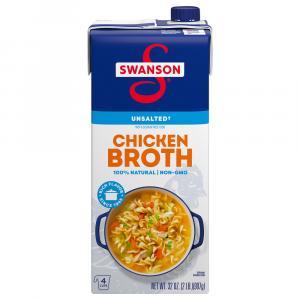 Swanson Unsalted Chicken Broth