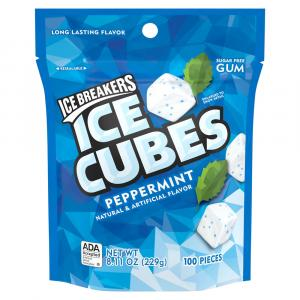 Ice Breakers Ice Cubes Peppermint Pouch