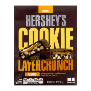 Hershey's Cookie Layer Crunch Caramel Bag