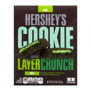 Hershey's Cookie Layer Crunch Mint Bag