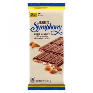Hershey's Symphony W/almonds & Toffee Bar