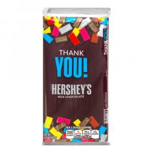 Hershey's Thank You Milk Chocolate bar