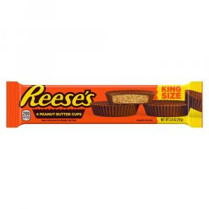 Reese's 4 Peanut Butter King Size Peanut Butter Cups
