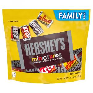 Hershey's Miniatures Family Pack