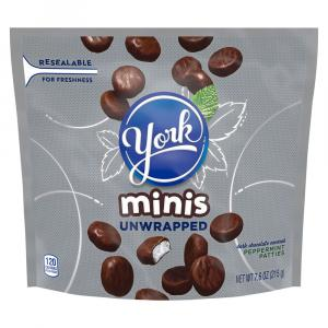 York Peppermint Patties Minis Unwrapped