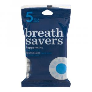 BreathSavers Peppermint Mints