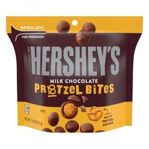 Hershey Milk Chocolate Pretzel Bites