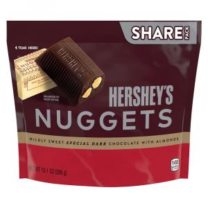 Hershey's Nuggets Special Dark with Almonds Share Pack