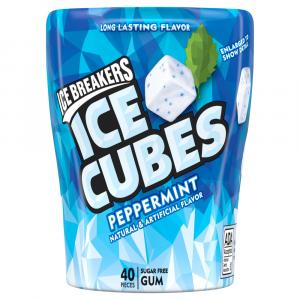 Ice Breakers Ice Cubes Peppermint Bottle Cube Pack