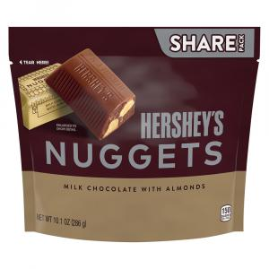 Hershey's Nuggets Milk Chocolate with Almonds Share Pack