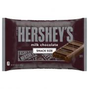 Hershey's Milk Chocolate Snack Size Bag