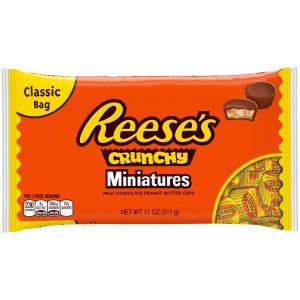 Reese's Peanut Butter Crunch Crunchy Mini Bag