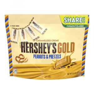Hershey's Gold Peanuts & Pretzels Share Pack