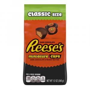 Reese's Dark Chocolate Peanut Butter Cup Miniatures