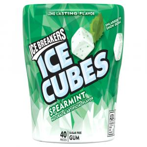 Ice Breakers Ice Cubes Spearmint Bottle Cube Pack
