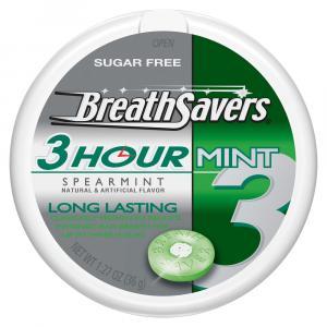 BreathSavers 3-Hour Spearmint Mints