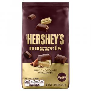 Hershey's Milk Chocolate Nuggets with Almonds