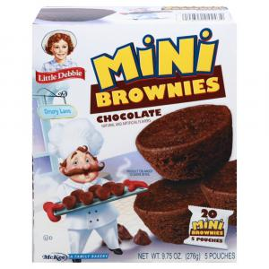 Little Debbie Little Brownies Cupcake Style